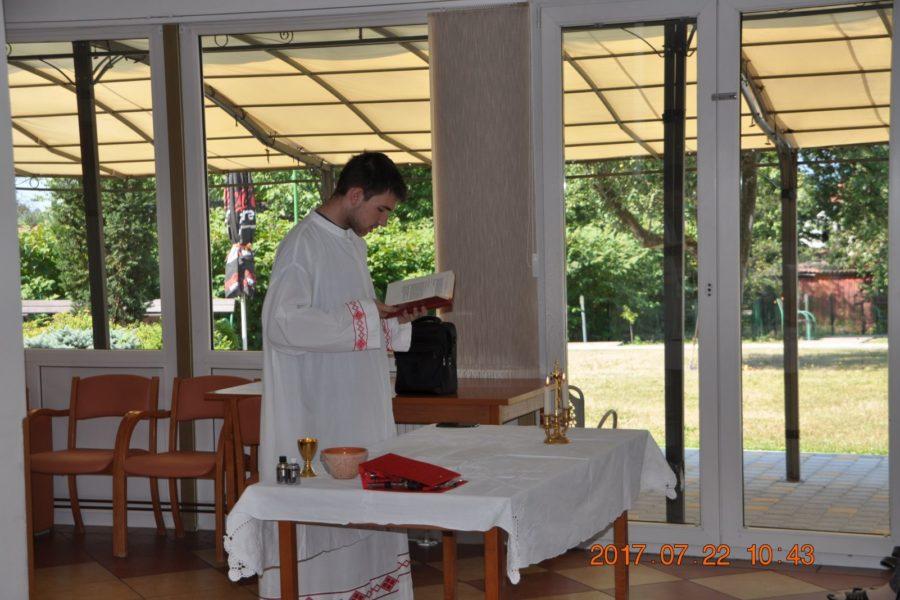 Sveta misa u Domu Bistra