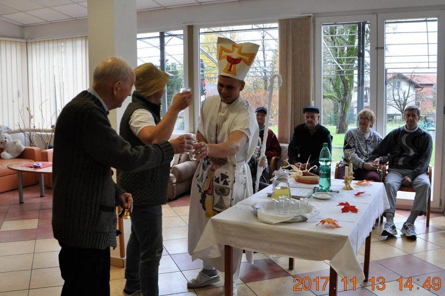 Proslava Martinja u Domu Bistra