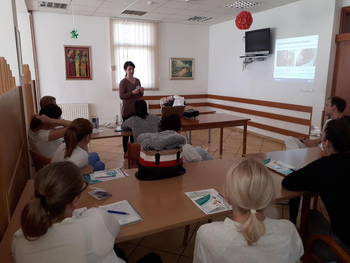 Organizirali smo predavanje za medicinsko osoblje Doma