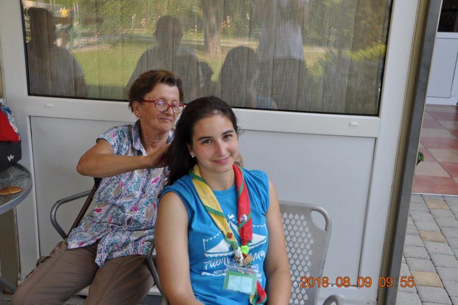 "Druženje sa volonterima iz Italije – ""Vrt plavih ruža"