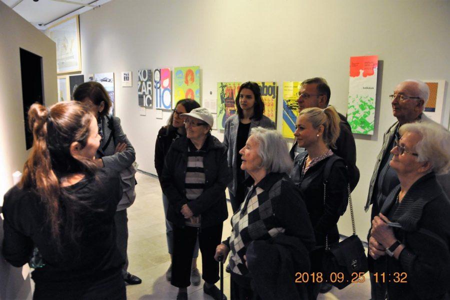 Odlazak na izložbu u Muzej za umjetnost i obrt