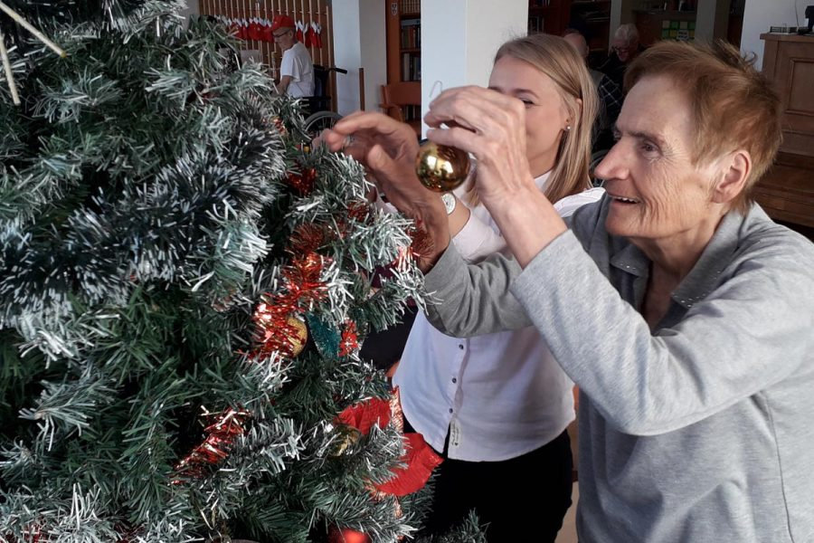 Okitili smo božićno drvce u Domu Bistra